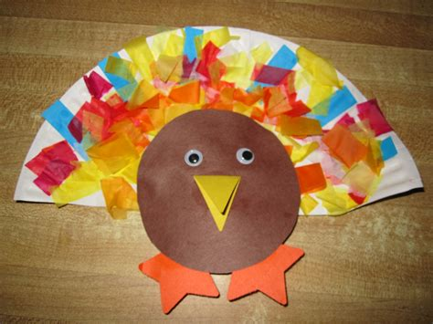 paper plate turkey craft for some of this some of that paper plate turkey