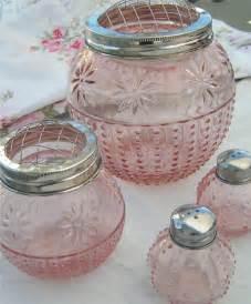pink glass pink glass depression glass