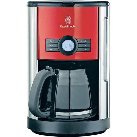 machine à café Russell Hobbs Machine à café numérique Cottage Rouge 18504 56 sur le site