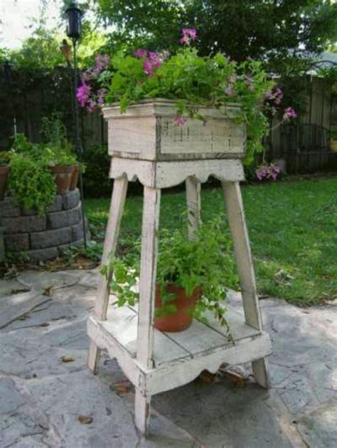 shabby chic plant stand wade plant stands