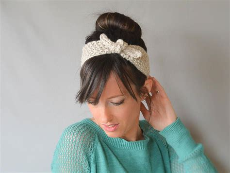 knitting patterns for headbands vintage tie up headband knitting pattern favecrafts