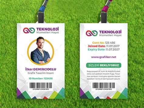 how to make employee id cards employee id card template design id badge