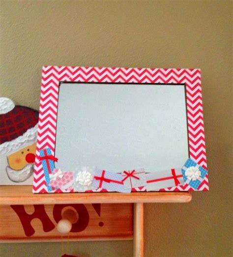 mirror craft paper tutorial easy scrapbook paper frame mirror dollar store