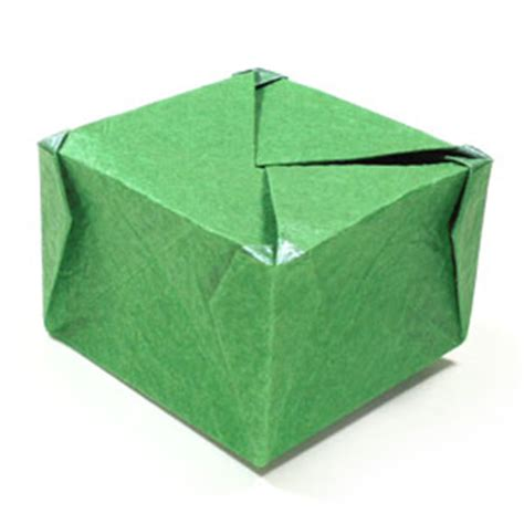origami closed box how to make a closed square origami box iv page 1