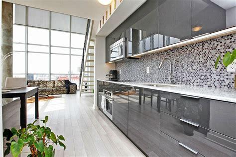 grey gloss kitchen cabinets grey gloss kitchen and black on