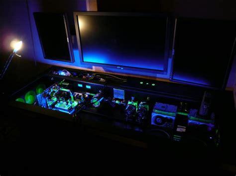 computer desk mod custom built computer desk mod 68 pics