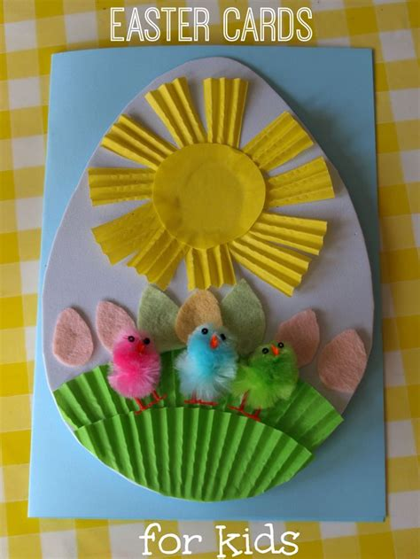 easter cards for children to make 139 best images about easter school crafts on