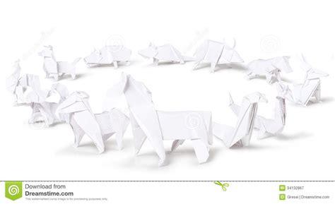 origami zodiac origami zodiac royalty free stock photography