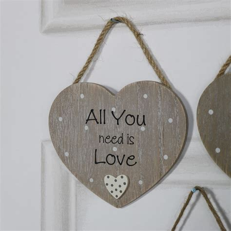 hanging plaque rustic hanging plaque quot all you need is