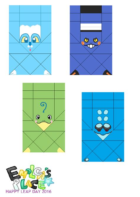 origami frog template what soda place papercrafts