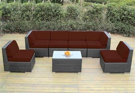 sunbrella sectional sofa sunbrella sectional sofa ventura umber sectional with