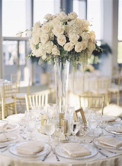 white wedding decoration ideas wedding table decorations for a wedding chwv