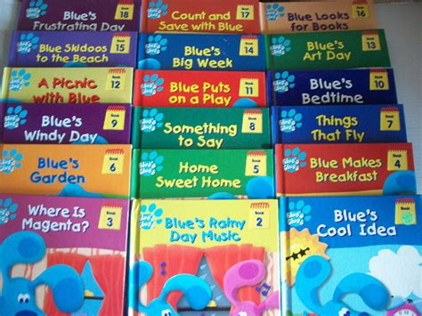 the blue book series 1 blues clues set of 18 discovery series books ebay