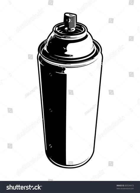 spray paint vector vector spray can 83534473