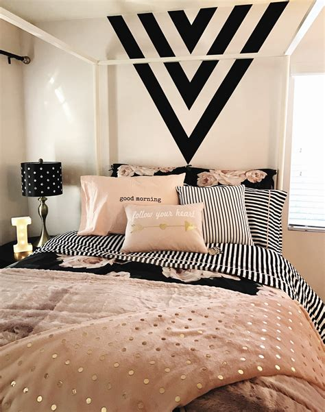 black and gold bedroom ideas room black gold and pink black paint feature wall