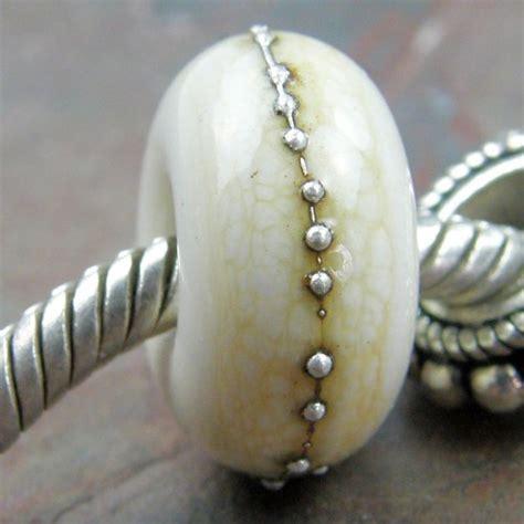 charming bead shop bracelet charm large handmade lwork glass bead