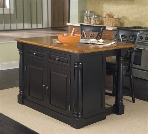 discounted kitchen islands discount kitchen islands with stools home styles monarch 48x25 kitchen island w 2 stools