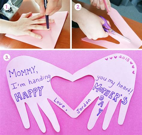 simple mothers day crafts for a and simple s day craft for children