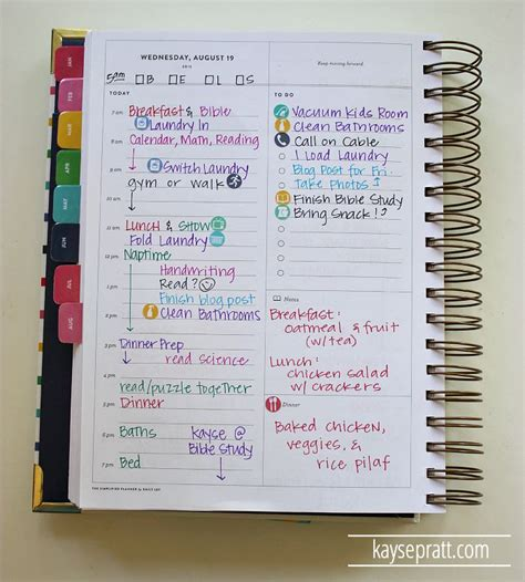 planning a for work how i use my simplified planner to all the