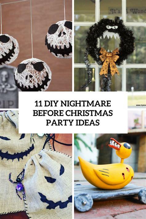 nightmare before ideas 11 diy nightmare before ideas
