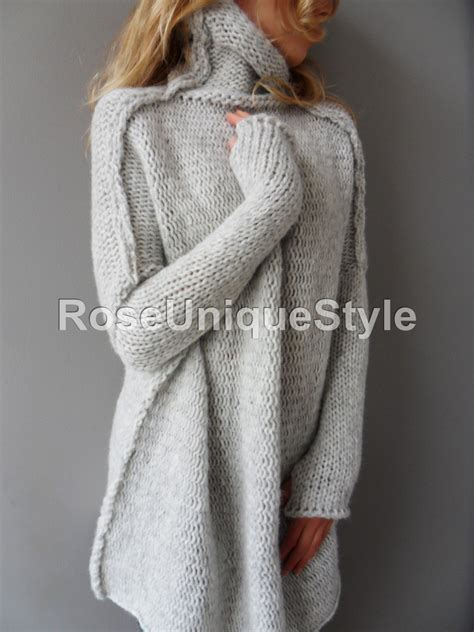 knit sweater oversized oversized handmade chunky knit sweater