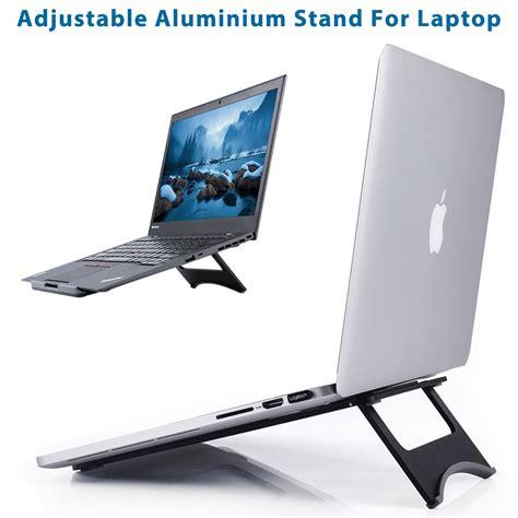 air desk stand universal aluminum desk laptop stand holder for macbook