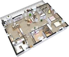 3d plan home plans 3d roomsketcher