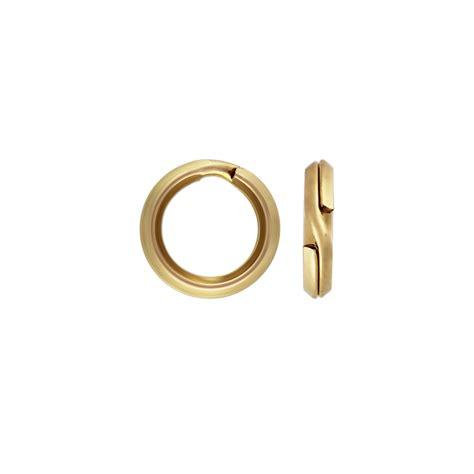 how to make split rings for jewelry split ring 14k yellow gold split rings for jewelry