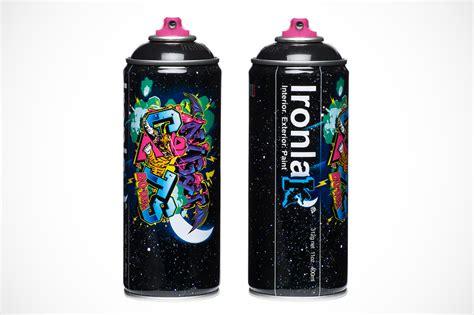 spray paint ironlak bodega x ironlak paints murdered out can hypebeast