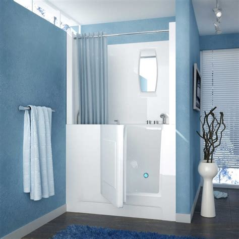 walk in baths with shower walk in tubs and showers combo