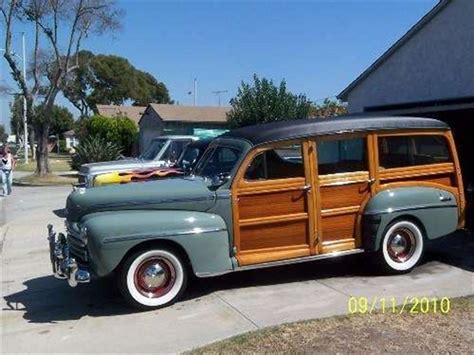 Ford Woody by 1948 Ford Woody Wagon For Sale Classiccars Cc 839150