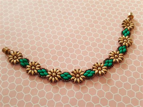 beaded chains patterns tutorial pattern for beaded sunflowers chain superduo