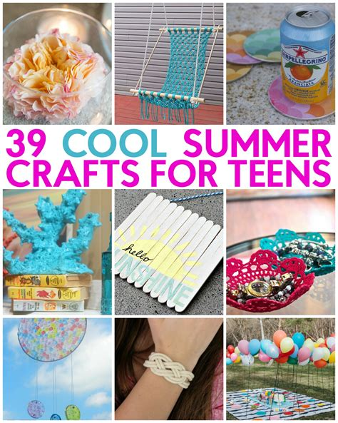 great crafts for 39 great summer crafts a craft in your daya