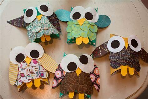 owl craft owl craft brownie meeting ideas