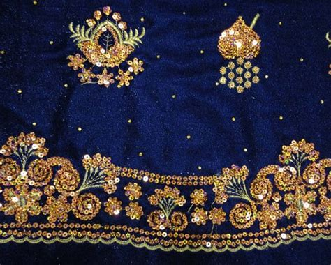 how to embroider on fabric polyester embroidery velvet fabric with metallic id