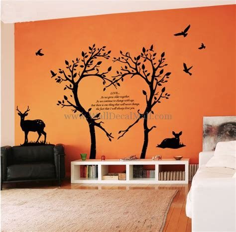 photo tree wall sticker photo tree wall decal items similar to tree wall decal