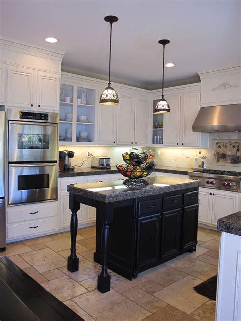 kitchen island white hanging lights island in kitchen