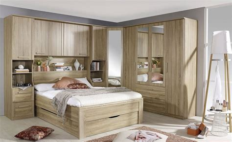 overbed bedroom furniture rauch rivera bedframe with or without drawers in alpine