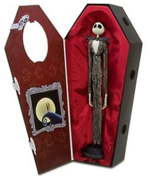 cool nightmare before gifts nightmare before skellington doll in coffin