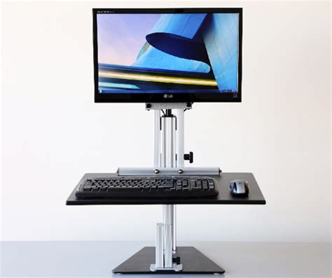 ditch your office chair for a new standing desk wired