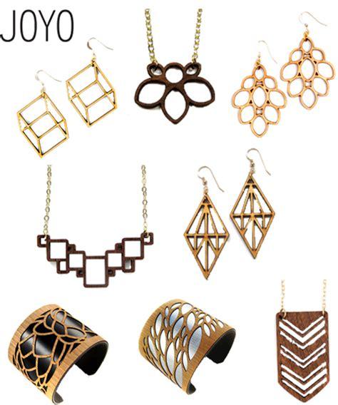 how to make laser cut jewelry giveaway joyo lasercut birch earrings stylecarrot
