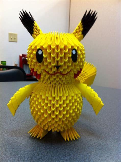 3d origami pikachu pikachu album shawn 3d origami