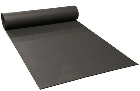 Home Gym Flooring black recycled gym flooring rolls 4 wide x 3 8 thick