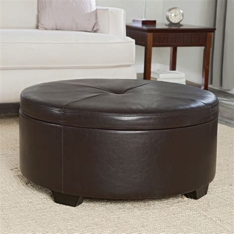 storage ottoman table belham living corbett coffee table storage ottoman
