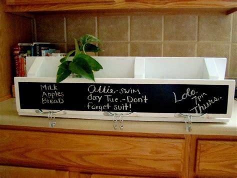 diy chalkboard for kitchen picture of diy chalkboard kitchen organizer