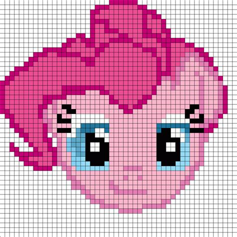 www bead patterns pinkie pie perler bead pattern bead sprites