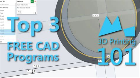 free cad program best free cad programs for 3d printing 2015