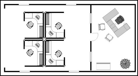 small office floor plan small office cubicle floor plan exle template