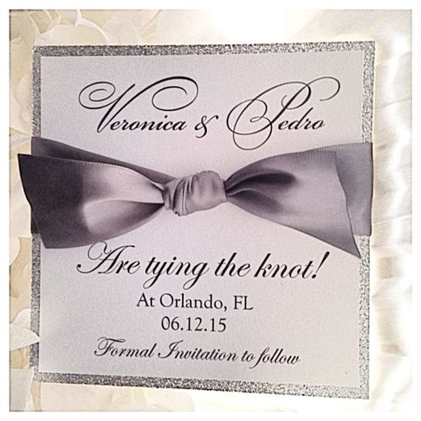 how to make save the date cards silver wedding save the dates silver save the date card