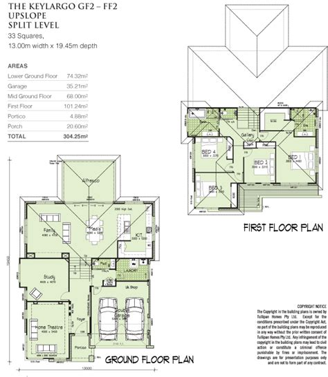 tri level home plans designs keylargo gf2 ff2 tri level upslope home design tullipan homes